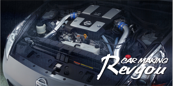 VQ37VHRを約40%パワーアップ。ツインスーパーチャージャー(GTS7040)搭載でスポーツカーの本能を呼び覚ます。Z34のチューニングならカーメイキングレヴューへ